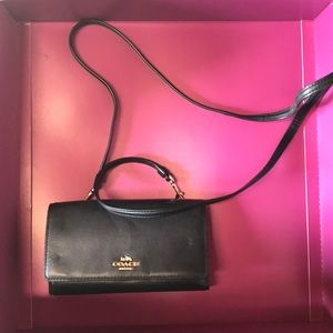 Coach crossbody wallet bag